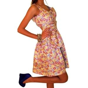 Zac Posen for Target Floral Brocade Dress  Size 3